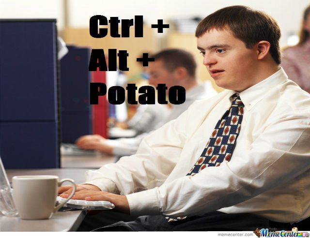 Ctrl+Alt+Potato