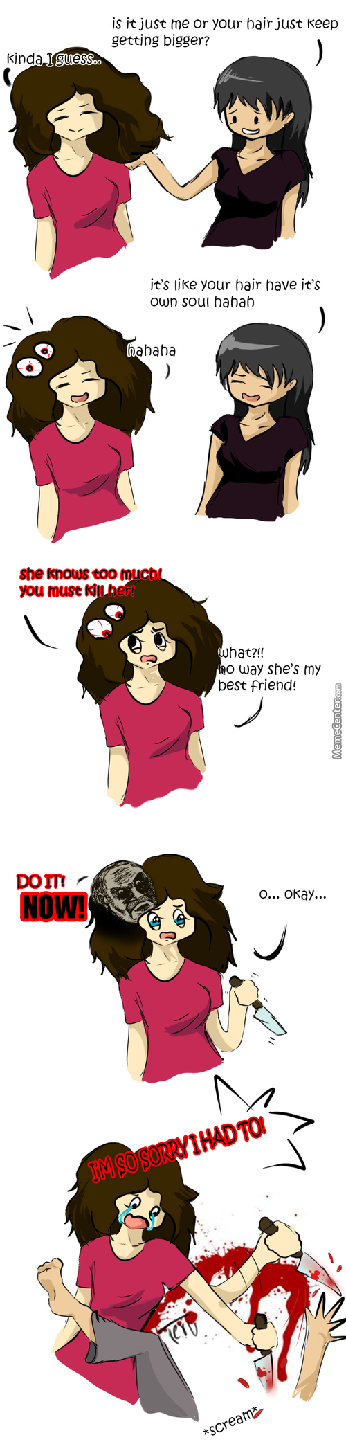 Curly Hair Is Evil -Capslock-