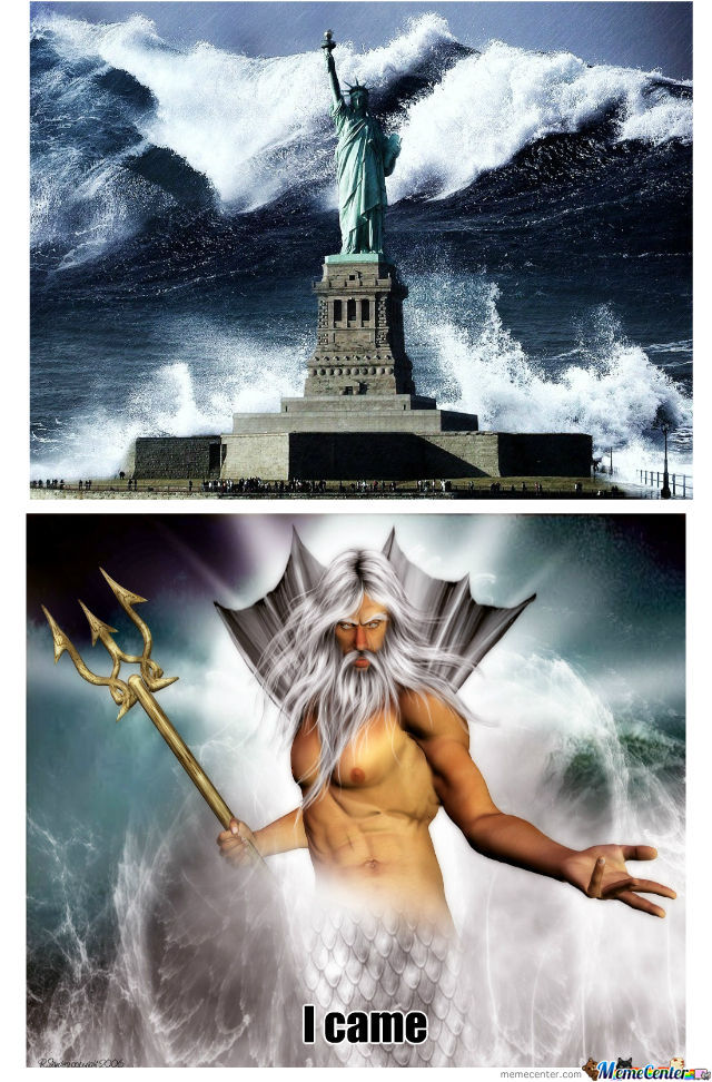 Curse You Merciful Poseidon