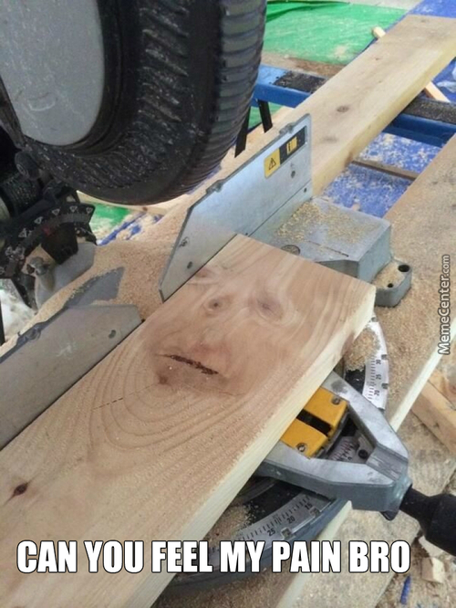 Cut And Saw, Saw And Cut ...