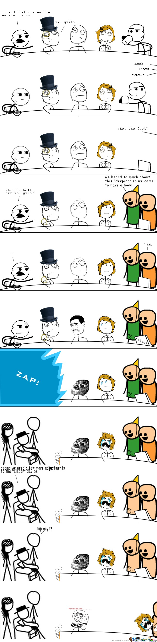 Cyanide & Happines Vs Rage Comics