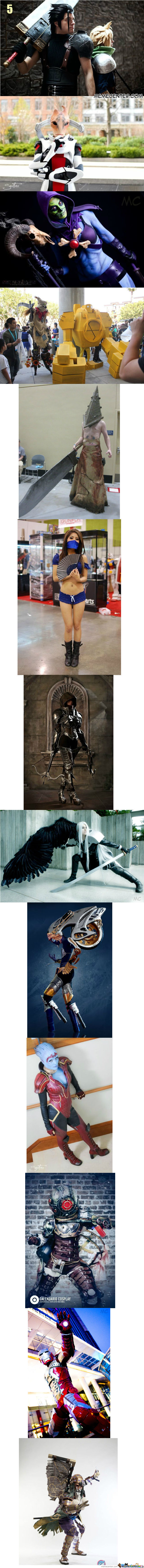 Daily Cosplay Compilation No: 5