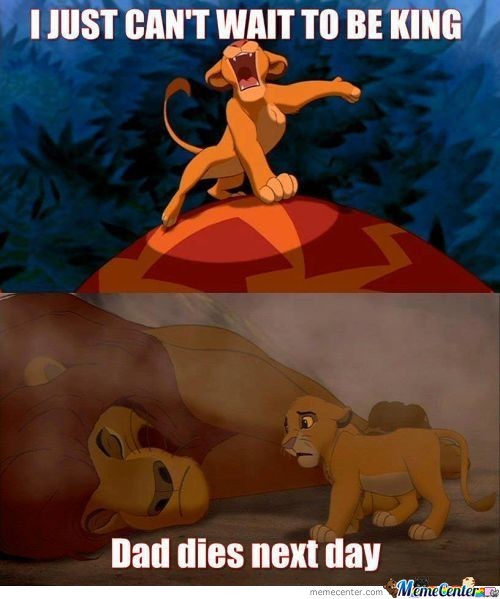 Damn It Simba , You Had One Job