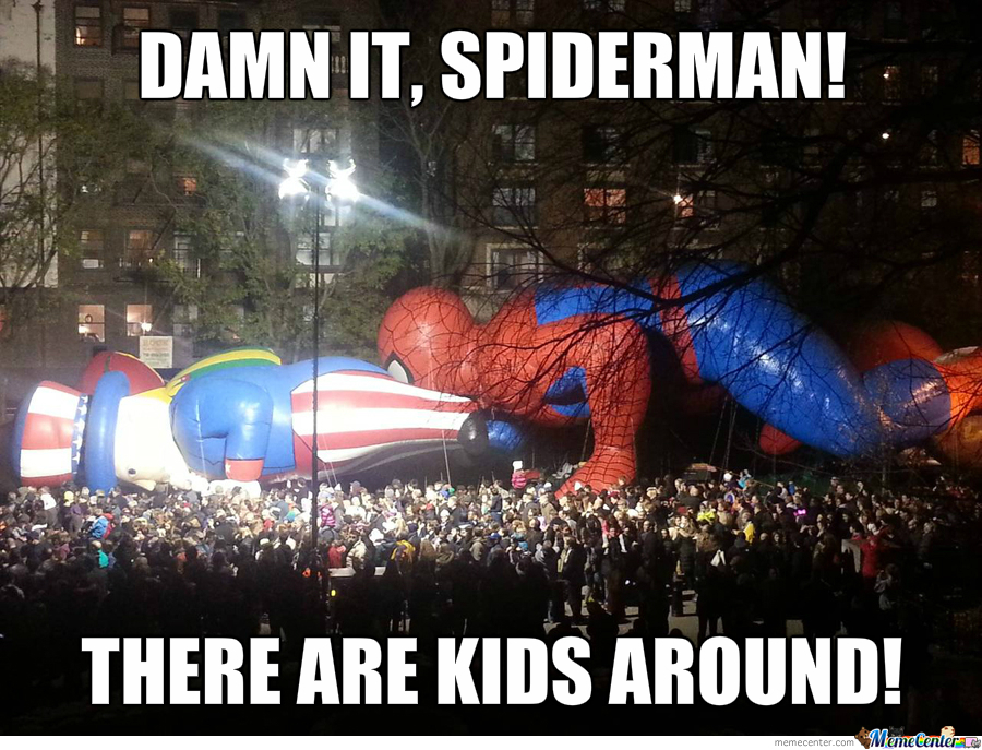 Damn It Spidey..