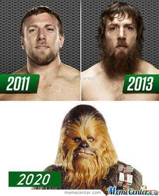 Daniel Bryan Through The Years