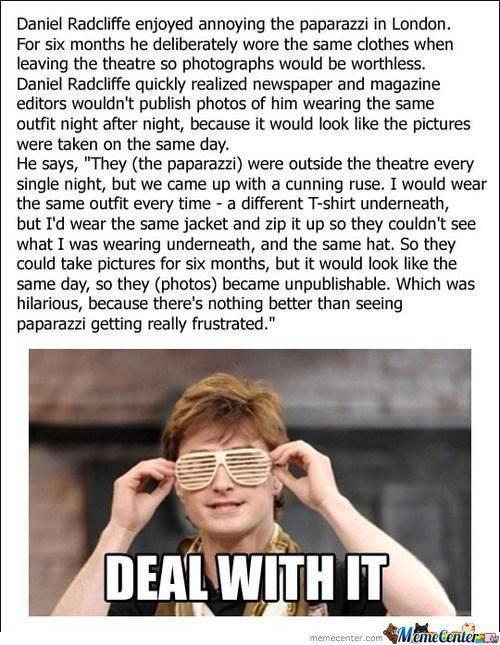 Daniel Radcliffe Being Awesome :-D