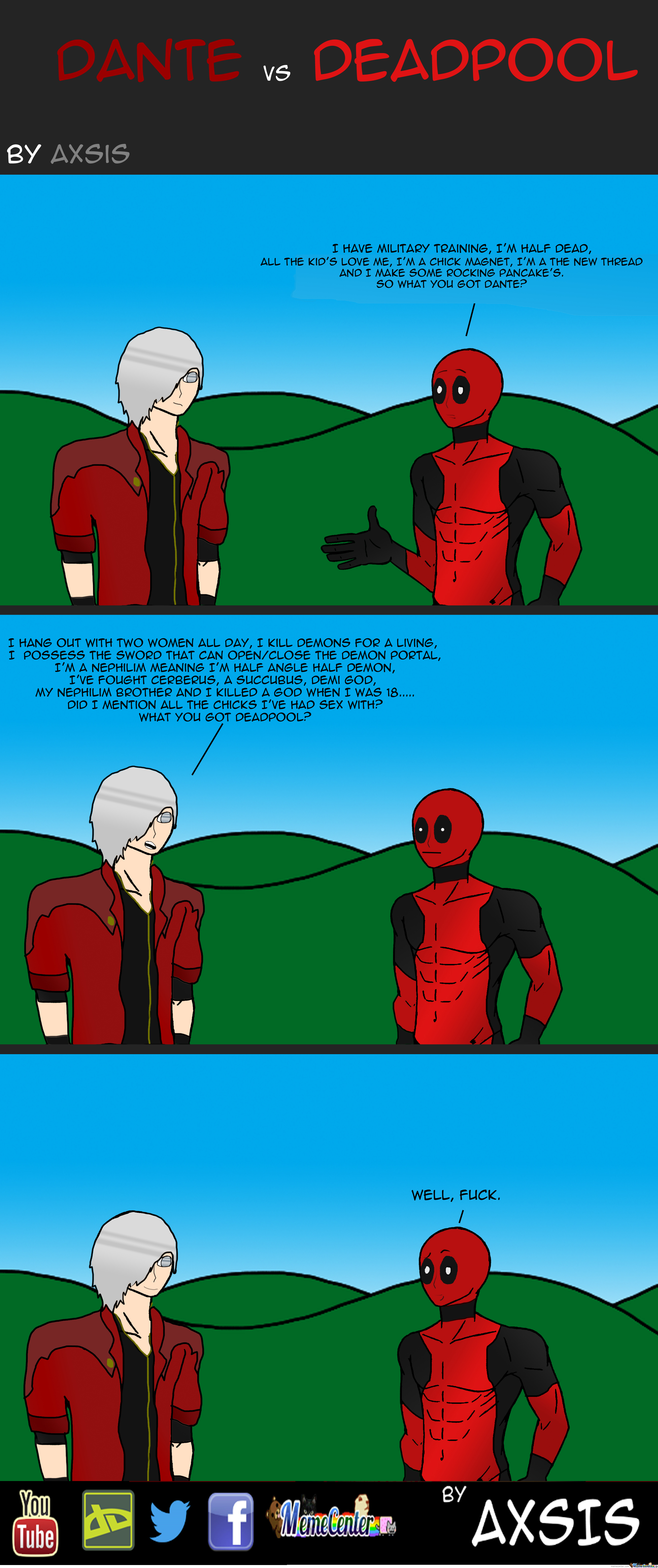 Dante Vs Deadpool