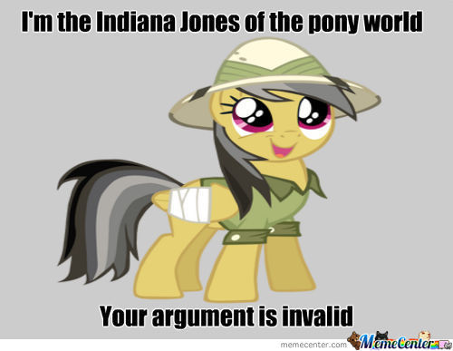 Daring Do Says It's Forever Invalid