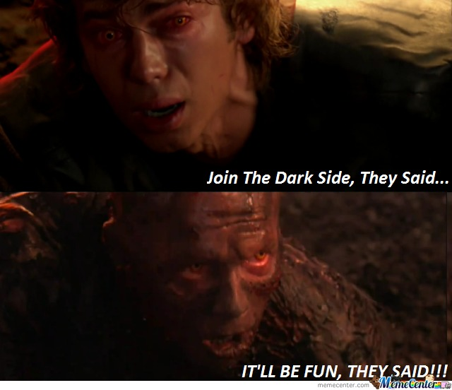 Dark Side Of The Fail...