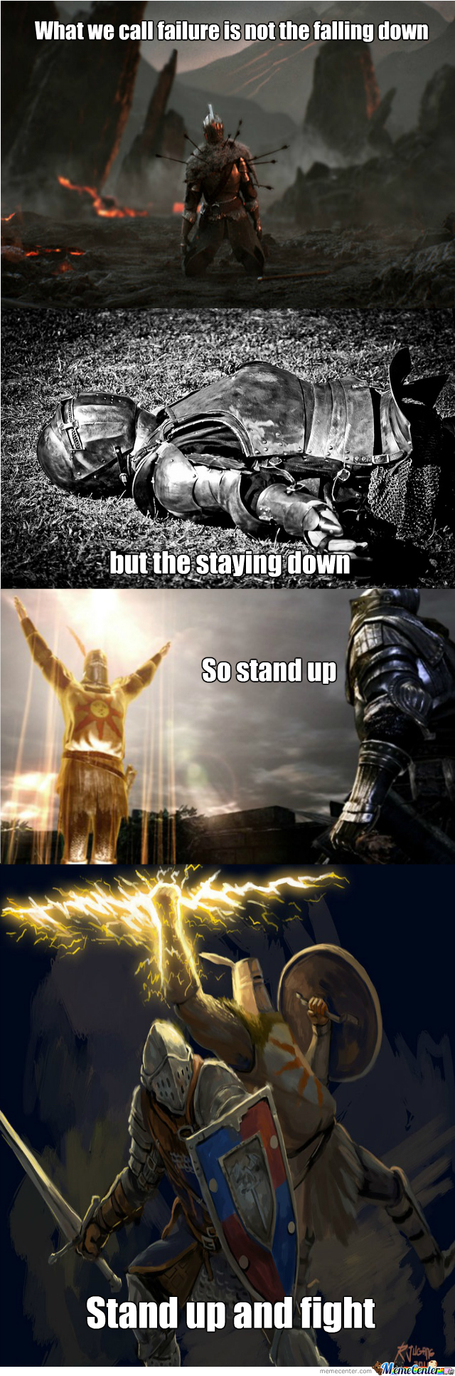 Dark Souls Motivational