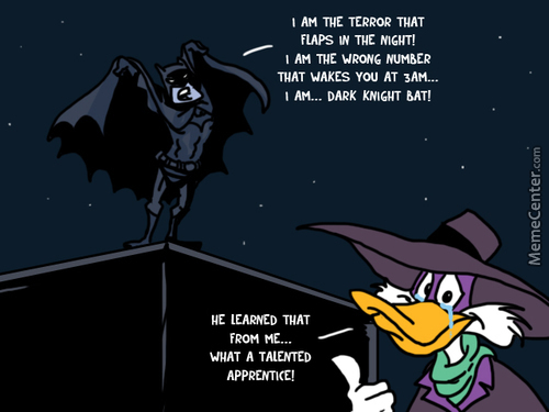Darkwing Duck Approves