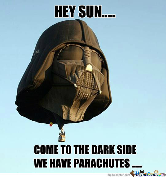 Darth Vader & The Sun