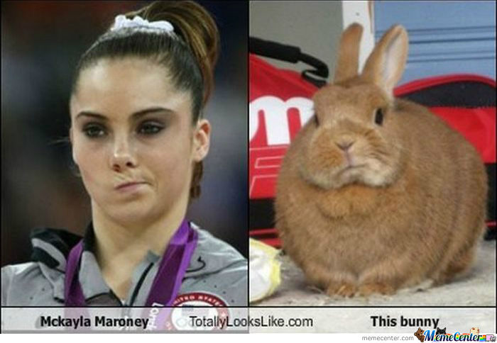 Dat Bunny Face.