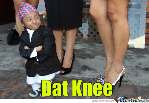 Dat Is Some Fine Knee Right There