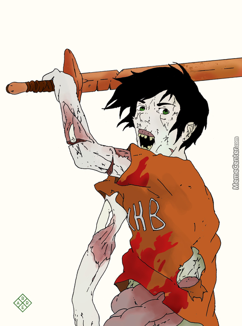 Daughterofhades Request: Zombie Percy Jackson