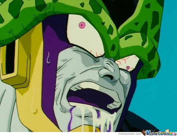 dbz cell derp face