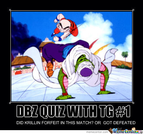 Dbz Quiz With Tg #1