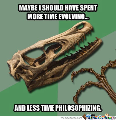 Dead Philosophical Dino