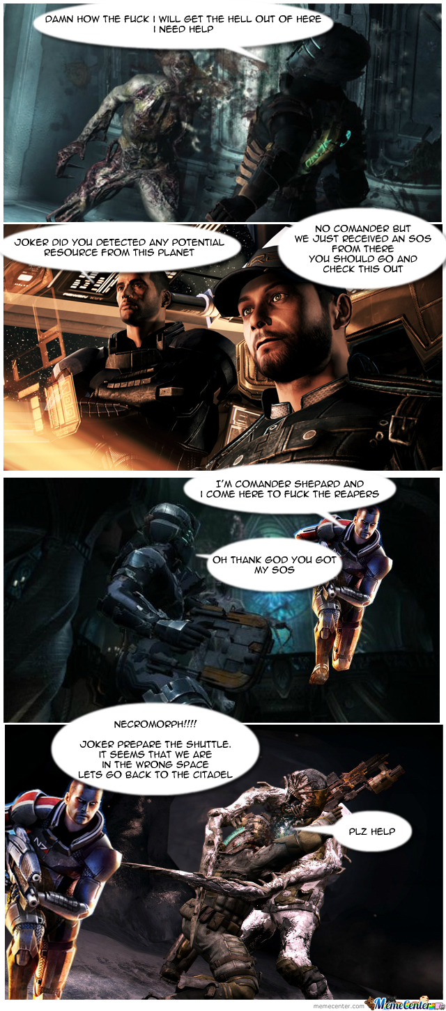 Dead Space Vs Mass Effect Ep1