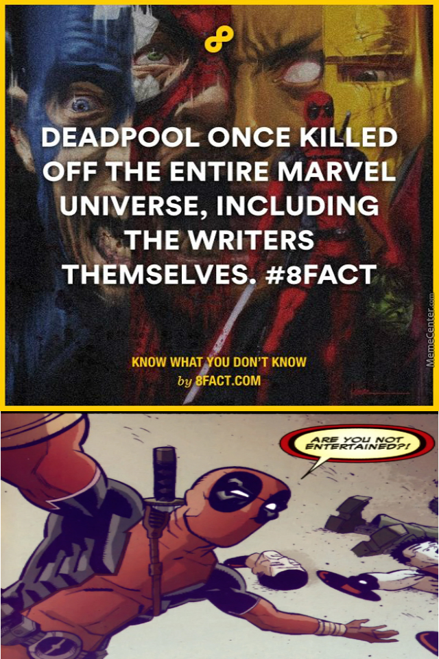 Deadpool At His Best