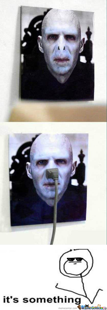 Deal With It, Voldemort