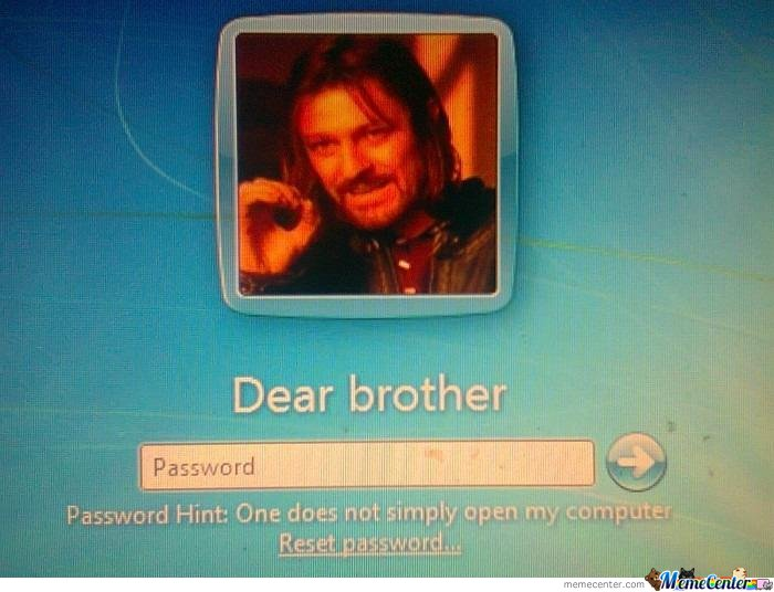 Dear Brother..