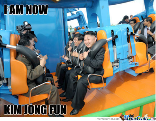 Dear Leader Kim Jong Un Having Fun