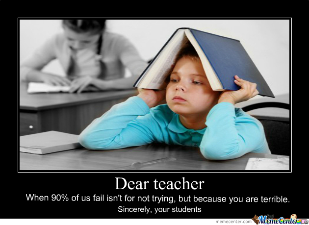 Dear Teacher...