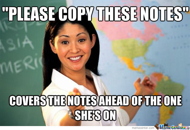 Dear Teachers Who Do This: I Hate You