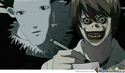 Death Note Face Swap