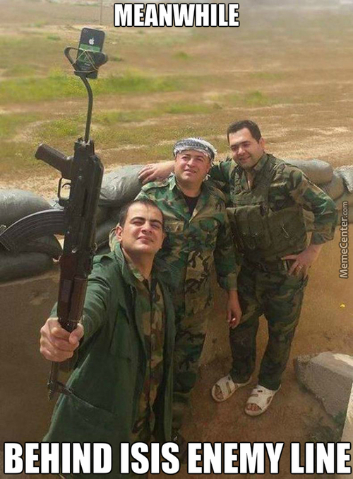 Death To America.. But First Let Me Take A Selfie