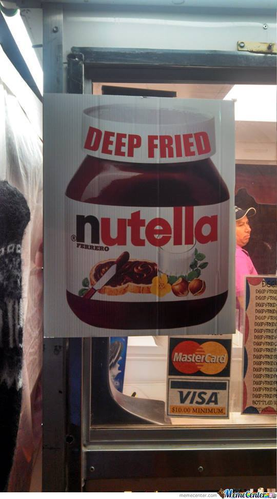 Deep Fried Nutella