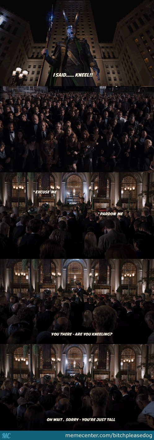 Deleted Lines From The Avengers