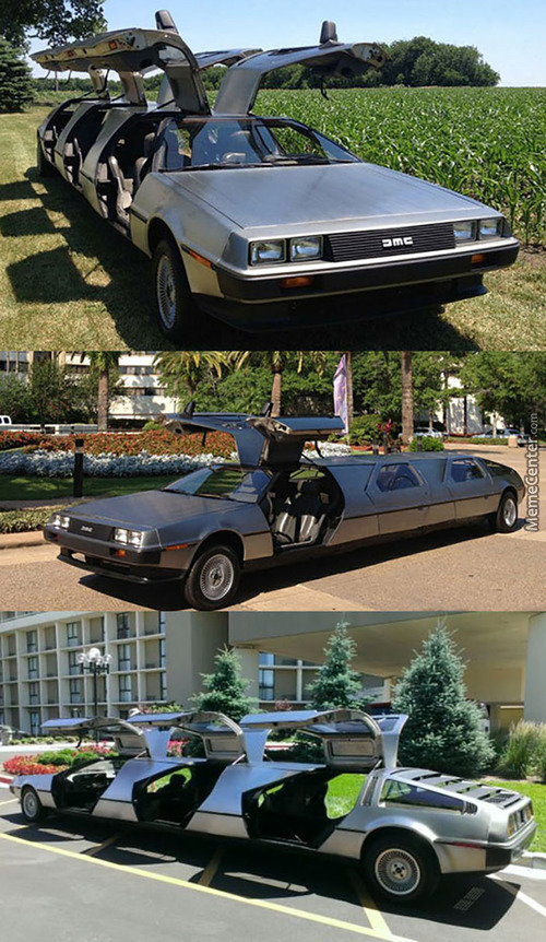 Delorean Limo