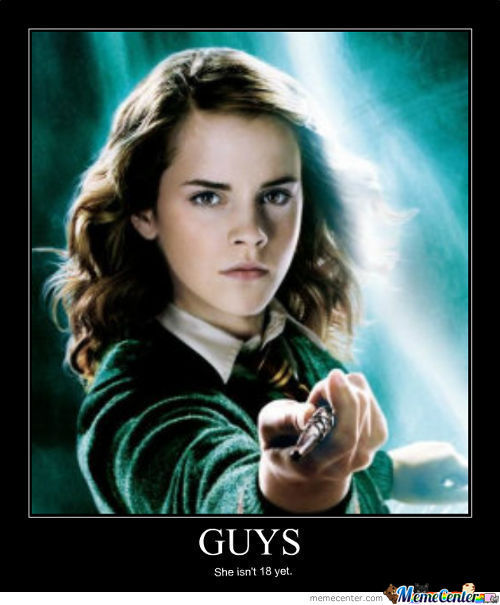 Demotivational Hermione