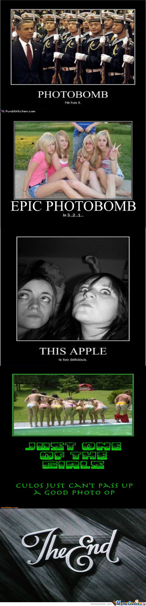 Demotivational Photobombs... Is There Any Greater Fail?