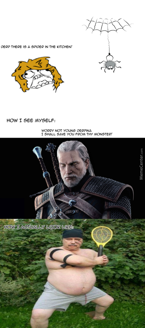 Derp Of Memecentria. Witcher 3 Hype Is Real.