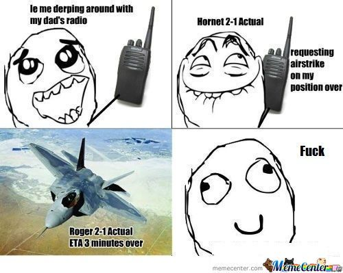 Derpin' With A Radio...