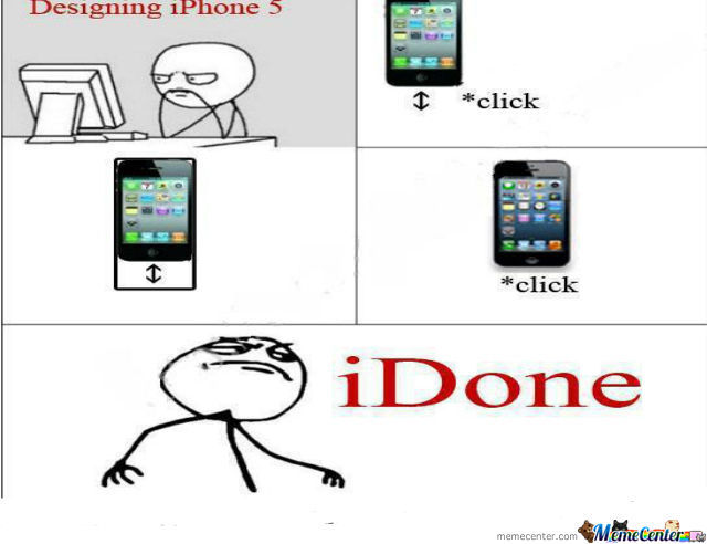 Designing Iphone 5