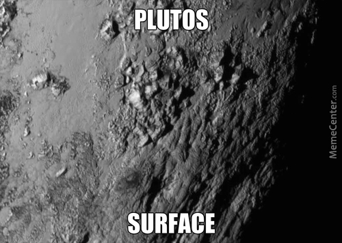 Details Of Plutos Surface