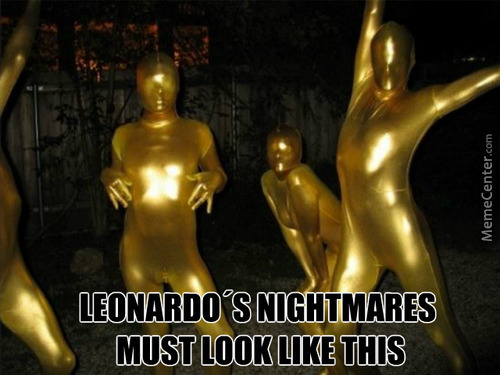 Dicaprio Has Nightmares Too