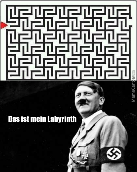 Did Jew Know How To Get Out Of This Trap? Coz I Didn't Nazi Any Escape.
