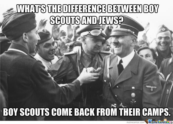 Cartoons/Comics/Memes - Page 2 Difference-between-boy-scouts-and-jews_o_1042710