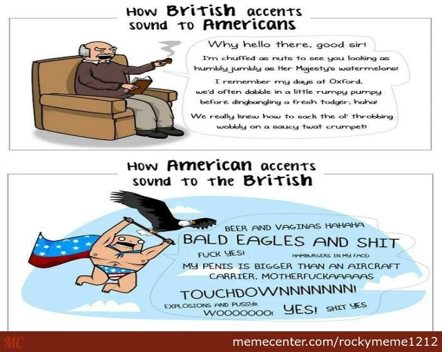 Difference Between British And American Accents