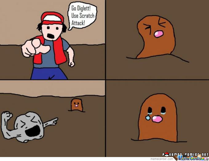 diglett meme - photo #2