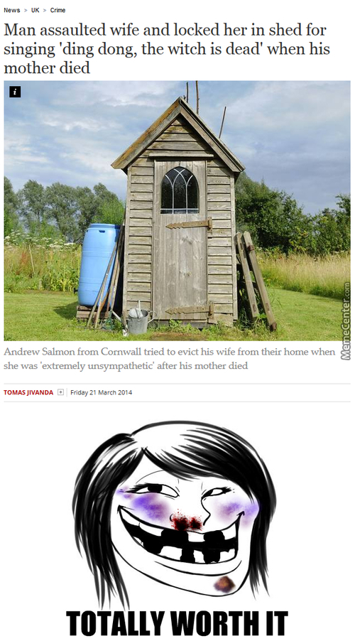 Ding Dong, The Witch Is Dead