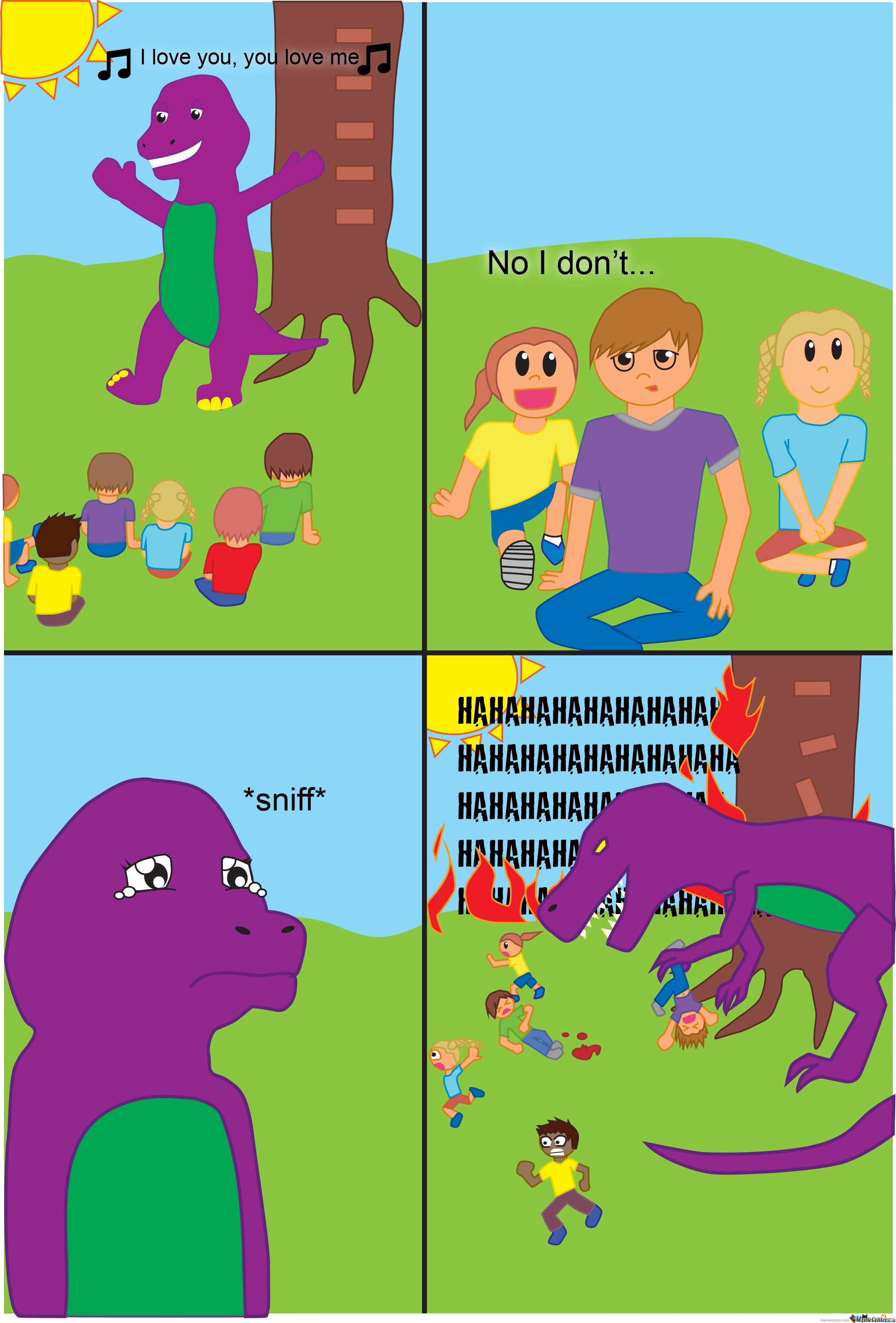 Dinosaurs Have Feelings Too