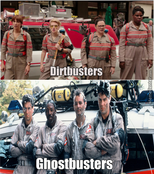 Dirtbusters Ghostbusters