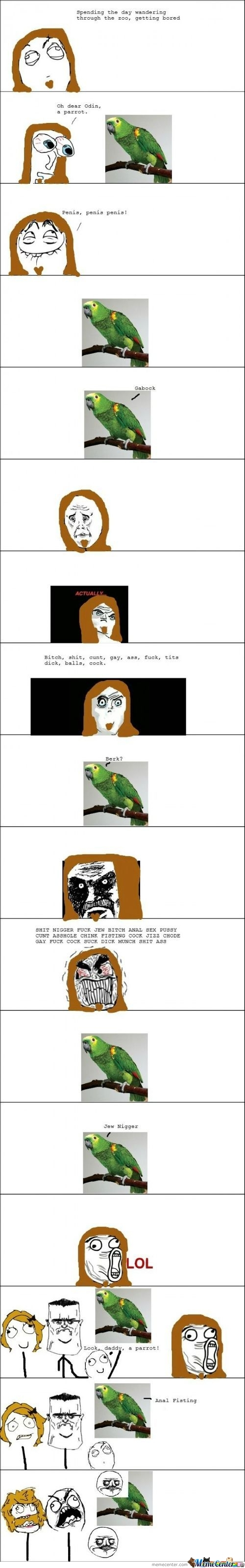 Dirty Parrot