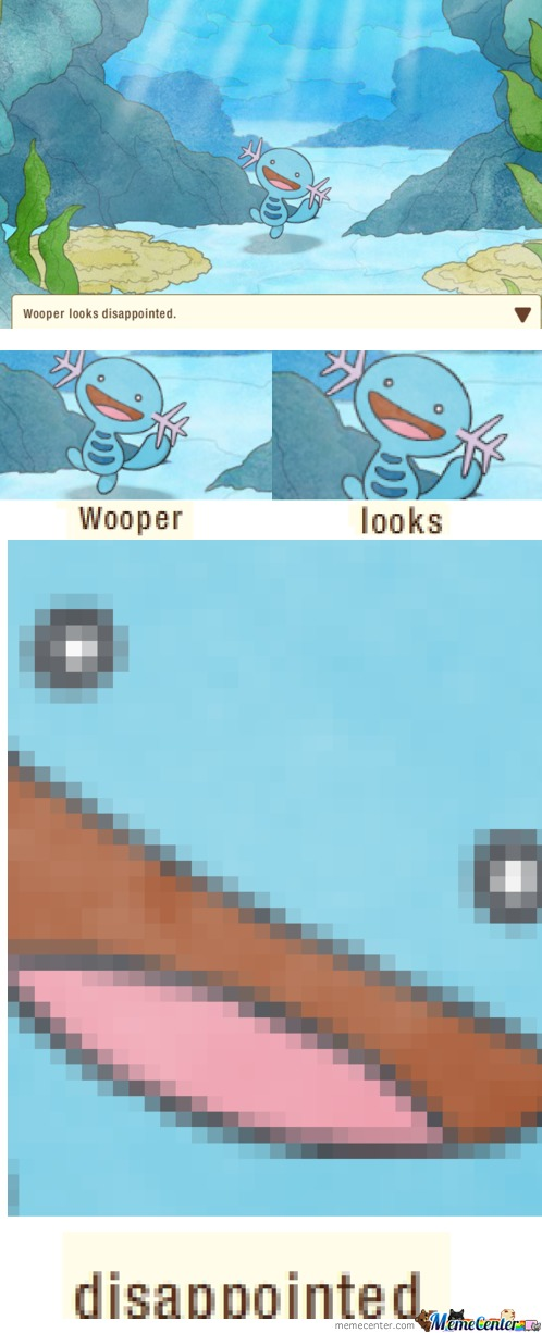 Disappointed Wooper